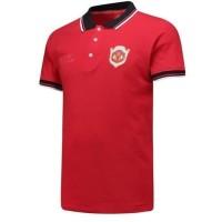 Kaos Polo Shirt Baju Kerah Distro MANCHESTER UNiTED HOME Grade Ori