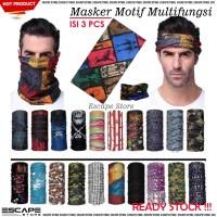 Buff Bandana Slayer Syal Masker Motor Multifungsi MOTIF - ISI 3 PCS