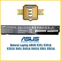 Original Baterai Laptop Asus X401U X401 X301A X301U X401A A32-X401