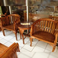 Kursi teras betawi lokal, kayu jati
