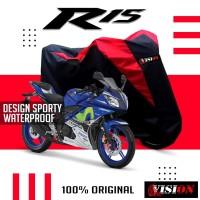 Sarung Motor CBR GSX Anti Air Cover Motor Yamaha R15 R25