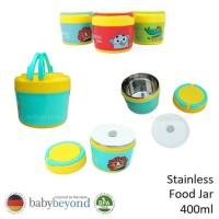 Baby Beyond Food Grade Stainless Steel Food Jar With Handle 400ml