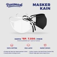 Breezmask Masker Kain Tali / Hijab Cotton