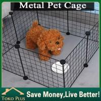DIY Pagar besi hewan/Kandang pagar/pagar anjing/kucing/kelinci