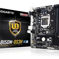 GIGABYTE GA-B150M-DS3H ( Mainboard LGA1151 B150 DDR4 )