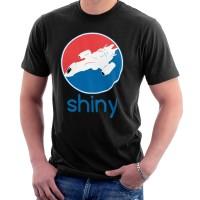 Kaos Firefly Serenity Shiny Pepsi Logo T-shirt