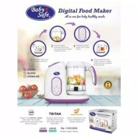 (Baby Club Itc Bsd) Baby Safe Digital Food Processor LB02