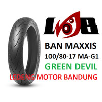 Maxxis 100/80-17 MA-G1 Green Devil Gi Ban Tubeless Ring 17