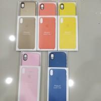 Premium Leather Case Casing Iphone X model Original Apple (OEM)