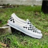 Sepatu Vans Vault Slip On OG LX Checkerboard 2020 Original 100% BNIB!