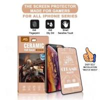 Antigores iPhone gaming Ceramic Matte Anti Glare /Bukan Tempered Glass - IP X,XS,11PRO