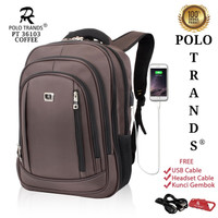 Polo Trands EXPANDABLE Edition Backpack 26L 36103 - Tas Ransel Laptop