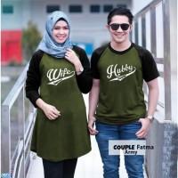 Couple Fatma / Baju Pasangan Kaos / Couple Kaos