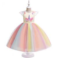 Dress Unicorn Pink / Dress Anak Unicorn / Dress B2W2 - Kuning, 120