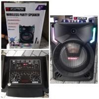 Speaker Portable Asatron HT 8868 POP 8 inch