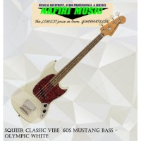 Squier Classic Vibe `60s Mustang Bass - Olympic White