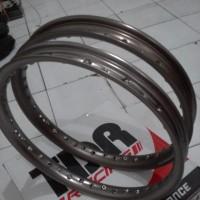 Velg Alloy 1set TDR Ushape Brown Cokelat 140 160-17 Bebek Sport