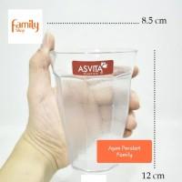 Gelas Melamine 350 ml Asvita / Gelas Acrylic 350 ml Asvita plast