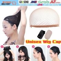 2PCS Weaving Cap Stretchable Elastic Hair Net Snood Wig Cap Hairnet