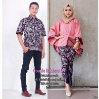 Terbaru Couple Rabbani Set Couple Sarimbit Baju Kalong Kebaya Couple