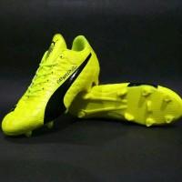 Ternama Sepatu Bola Puma Evo Speed Hijau Bagus