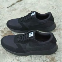Sepatu Nike Big Size Besar 45 46 47 Abu Gelap Hitam Polos Casual