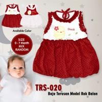 Baju bayi perempuan Rok bayi balon dress atasan bayi lucu TRS-020