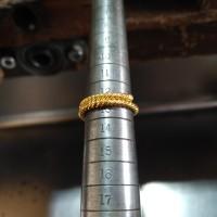 Cincin Emas Murni Asli Highest 24K LM999,9 Pintal Putar Lilit 5 Gram