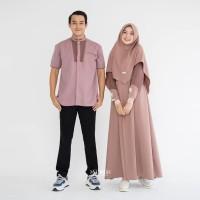 BAJU COUPLE FASHION MUSLIM TERBARU FAMILY SET CASUAL MODERN ELEGANT