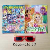 Buku Cerita Anak Milenial + Kaca Mata 3D