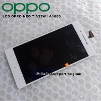 LCD TOUCHSCREEN OPPO NEO 7 A33W A1603 FULLSET ORI