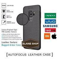 Aufo Focus Oppo A31 2020 Silicon Hitam Anti Slip Slim Premium Leather