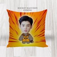 Bantal Sofa / Cushion foto karikatur - Rocket Raccoon