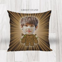 Bantal Sofa / Cushion foto karikatur - Groot Stand