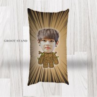 Bantal Sofa / Cushion foto karikatur - Groot Stand Long