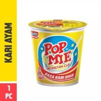 Pop Mie Kuah Rasa Kari Ayam 1pcs 75gr