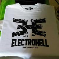 T-shirt Baju ELECTROHELL