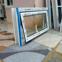 jendela aluminium 50 X 80