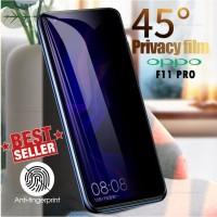 Tempered Glass Anti Spy Oppo F11 PRO Screen Guard Anti Gores