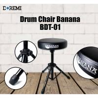 Bangku Drum Banana BDT 01 - Kursi Drum BDT 01 - Drum Throne Banana