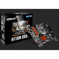 Asrock Motherboard H110M-DVS R3.0 - DDR4 - Socket 1151