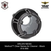 ARLEN NESS Method™ Clear Series Air Cleaner - Black #18-966