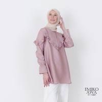 Baju Atasan Wanita Bonny - Emikoawa Blouse Premium Import Korea