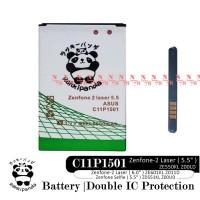 BATERAI ASUS ZENFONE SELFIE ZENFONE 2 LASER C11P1501 DOUBLE POWER