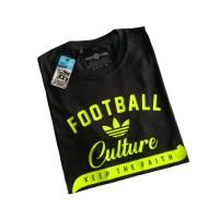 t-shirt kaos baju PERSIB FOOTBALL CULTURE putih untuk pria wanita