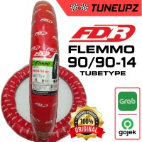 FDR 90/90-14 FLEMMO BAN LUAR TUBETYPE MATIC MIO FINO BEAT NO TUBELESS
