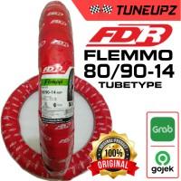 FDR 80/90-14 FLEMMO BAN LUAR TUBETYPE MATIC MIO FINO BEAT NO TUBELESS