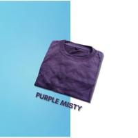 Kaos Polos Misty Kaos Purple Misty