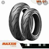 BAN MOTOR MATIC MAXXIS 90/80-14 GREEN DEVIL MA-G1 TUBLES