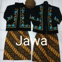 baju adat Jawa anak TK laki / perempuan